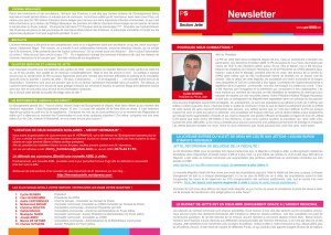 Newsletter du PS de Jette