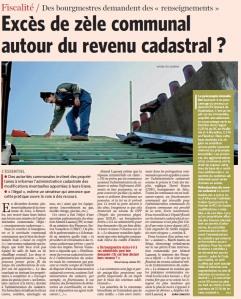 Excès de zèle communal - Le Soir 21/3/2012