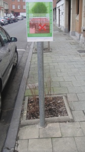 Les arbres des rues Pire et Dekeersmaker